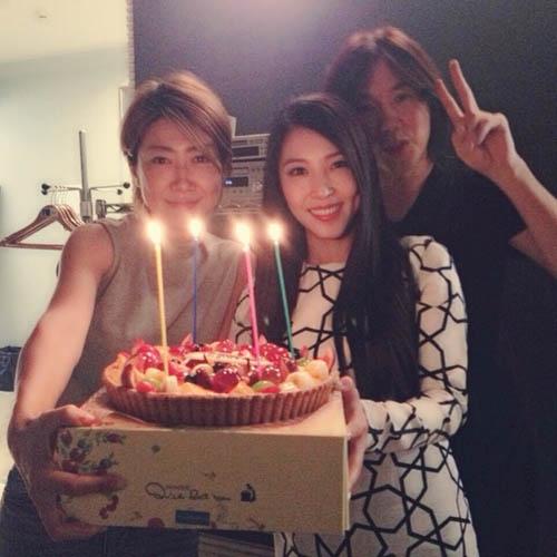 BoA đăng tải hình ảnh mừng sinh nhật một người bạn