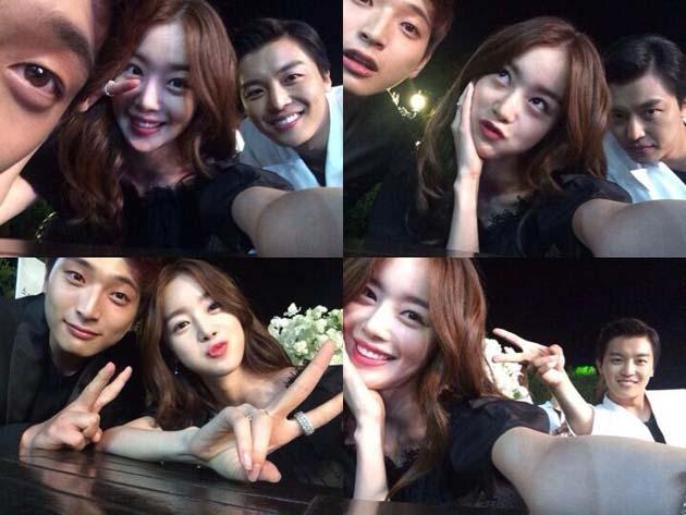Sunhwa khoe hình cùng Jinwoon (2AM) khi cùng nhau hợp tác trong bộ phim truyền hình Marriage