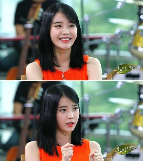 IU trong chương trình Healing Camp của đài SBS