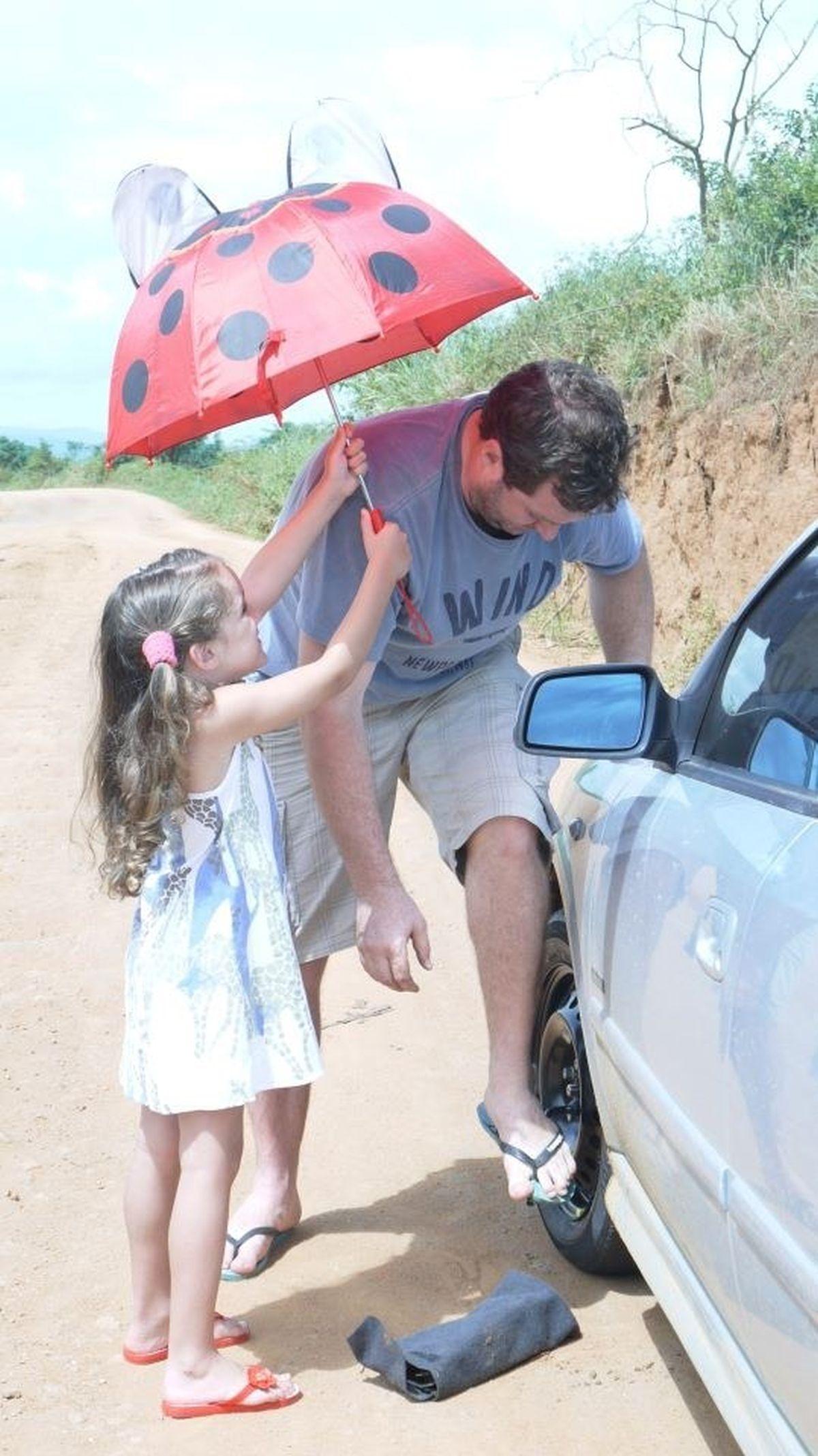 Cảm ơn con gái cưng của bố!