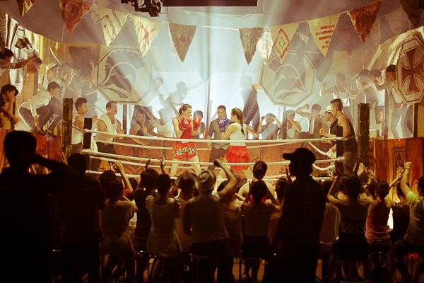 Hồ Ngọc Hà trổ tài đấm bốc trên sàn đấu quyền anh - Tin sao Viet - Tin tuc sao Viet - Scandal sao Viet - Tin tuc cua Sao - Tin cua Sao