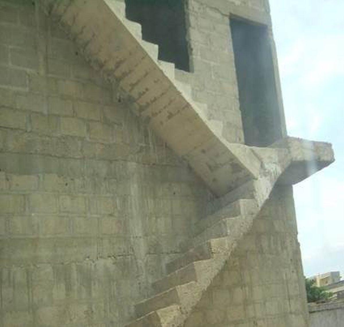 Lại một phiên bản cầu thang bị lỗi
