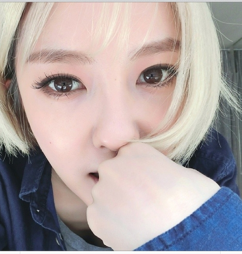 Hyomin khoe hình tự sướng cực xinh