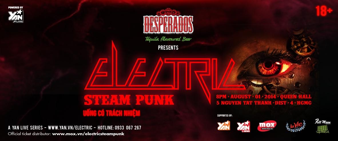 Cùng Electric du hành quá khứ-tương lai với âm nhạc đỉnh cao