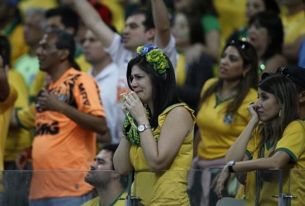 Đây là lần đầu Brazil nhận nhiều bàn thua nhất trong một trận bán kết World Cup.
