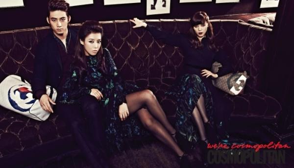 Taecyeon cực ngầu bên các mỹ nữ chân dài