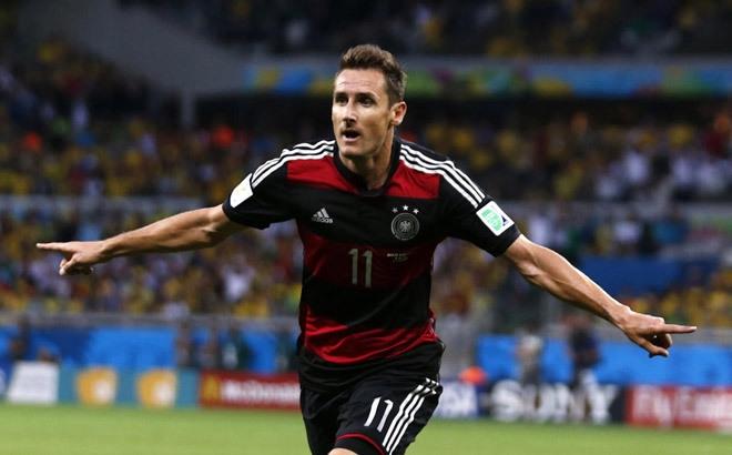 [Bóng Đá] Đức áp đảo danh sách các chân sút vĩ đại World Cup