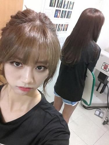 Sojin (Girl's Day) khoe hình đố fan cô đang ở đâu?