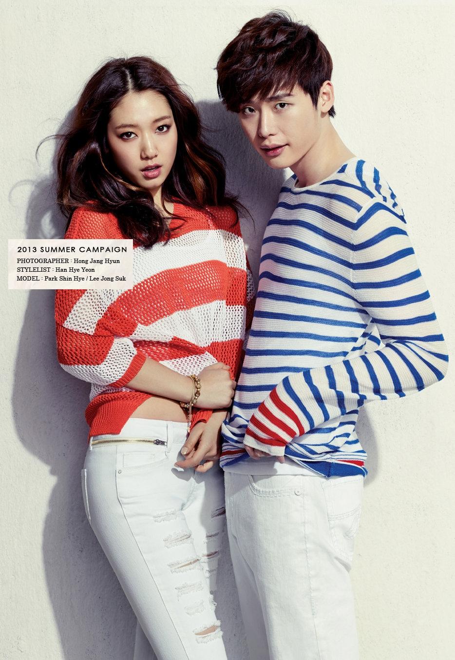 Cặp đôi Lee Jong Suk và Park Shin Hye cũng nhận được nhiều sự mong chờ của fan trong một dự án phim truyền hình