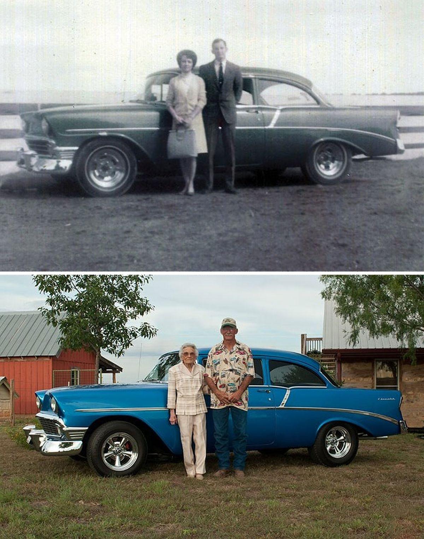 Vẫn bên nhau trong suốt 50 năm (1981 và 2012)