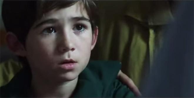 Nam diễn viên nhí Juan Ignacio Martinez được đánh giá cao khi đóng vai Messi hồi nhỏ