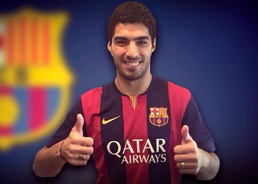 Suarez sẽ bị Barcelona trừ lương nếu cắn người