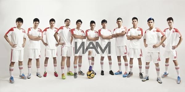 . Đội bóng trong mơ của làng giải trí Việt.