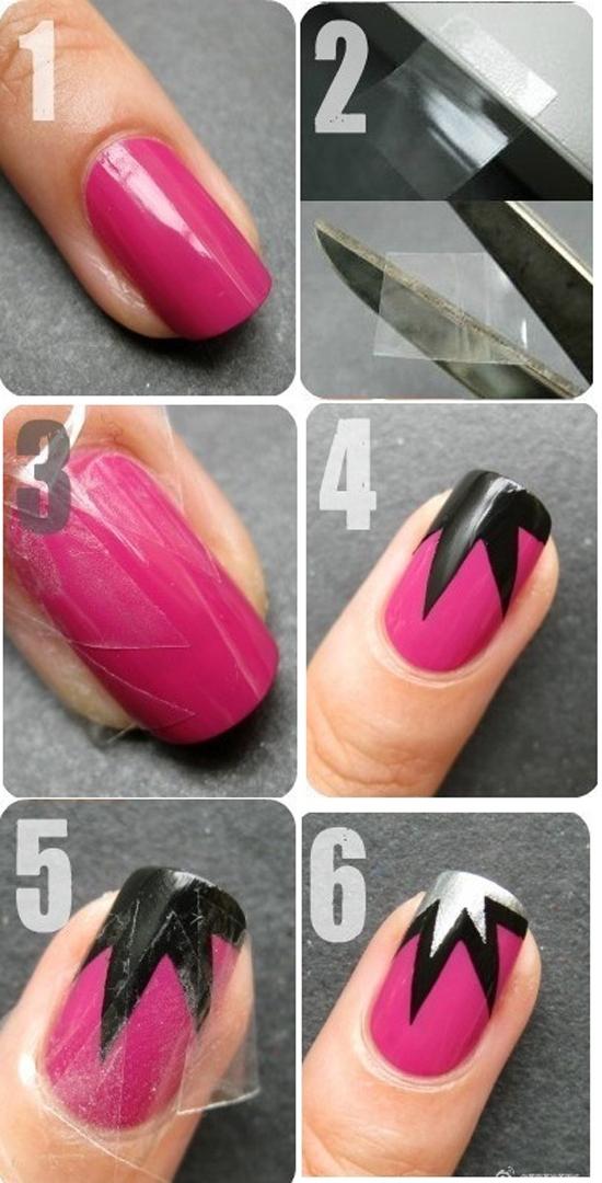Một chút phá cách đầy sáng tạo, băng keo rất dễ làm tróc lớp sơn. Bạn phải thật cẩn thận khi thao tác.
