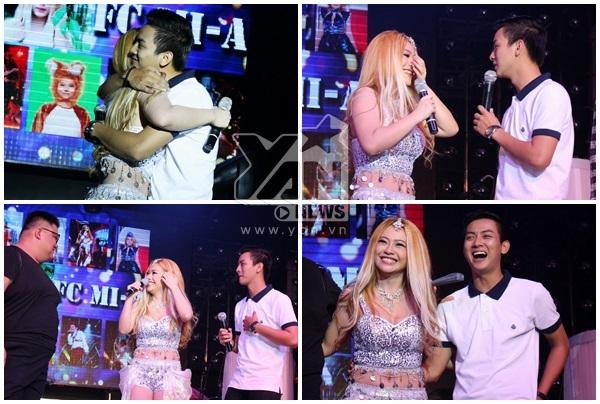 Hoài Lâm liên tục hôn MiA trên sân khấu - Tin sao Viet - Tin tuc sao Viet - Scandal sao Viet - Tin tuc cua Sao - Tin cua Sao