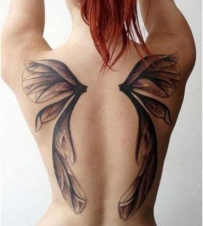 Tinh tế những hình xăm kín lưng dành cho nữ giới