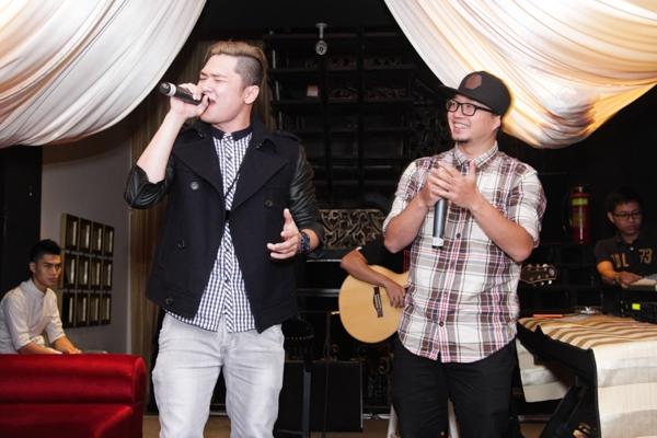 Biên đạo, rapper Hà Lê cũng có mặt để ủng hộ Bảo Kun