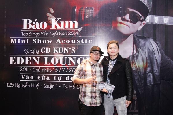 Những bài hát sắp phát hành cũng là hầu hết các ca khúc do Phúc Bồ sáng tác, hòa âm phối khí. Ngay sau khi ra mắt, Bảo Kun sẽ mang trực tiếp album của mình để gửi tặng khán giả trên toàn quốc mỗi lần đi lưu diễn.