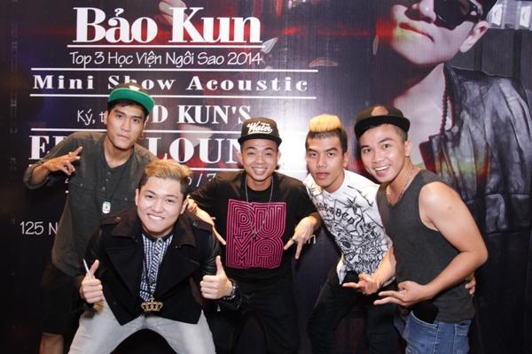 Theo bật mí riêng của Bảo Kun, sau minishow Bảo Kun sẽ tập trung nhiều thời gian hơn để hoàn thiện album tổng hợp 6 ca khúc đã thể hiện thành công trong chương trình Học viện ngôi sao.