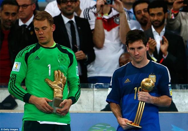 Dù đoạt Quả bóng vàng nhưng Messi vẫn rất buồn vì Argentina chỉ là á quân World Cup 2014