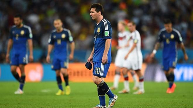 Định mệnh cay đắng của Messi
