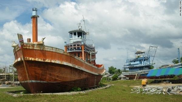 Chứng tích sóng thần - Thái Lan