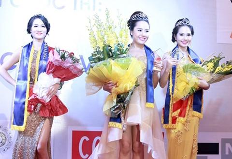 Top 3 người đẹp nhất Nữ hoàng săc đẹp Việt Nam.