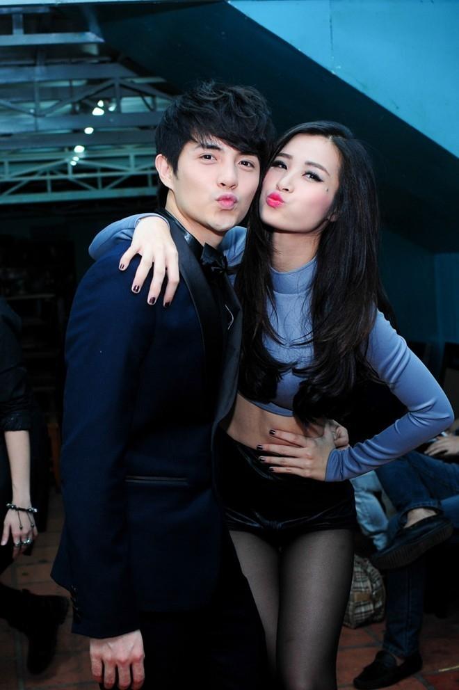 Người yêu điển trai của mỹ nhân showbiz Việt