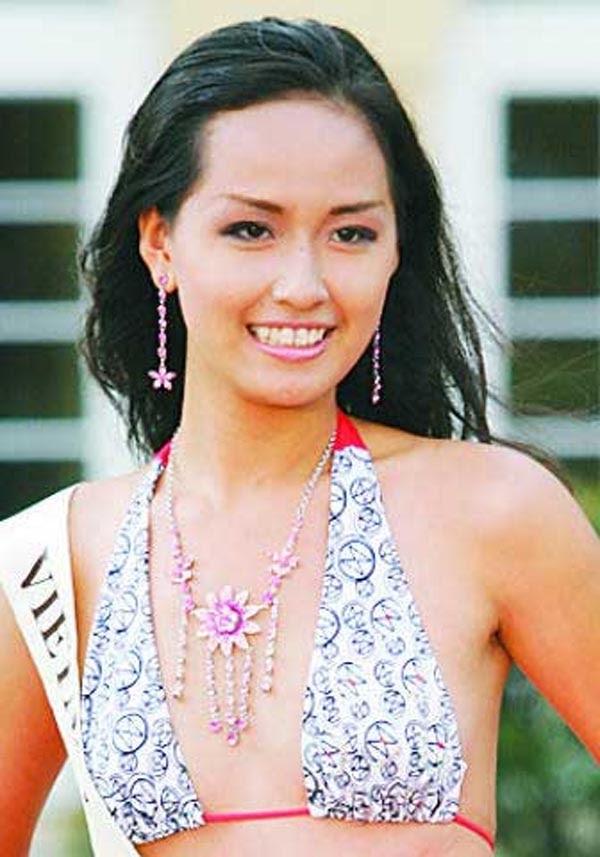 Mai Phương Thúy thời thi Hoa hậu Việt Nam 2006