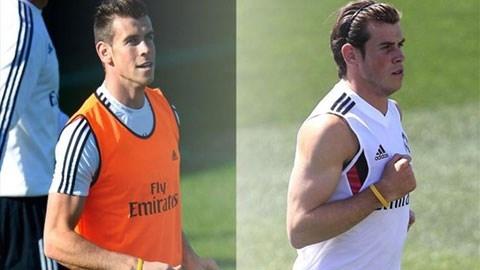 Bale khi mới đến Real và bây giờ