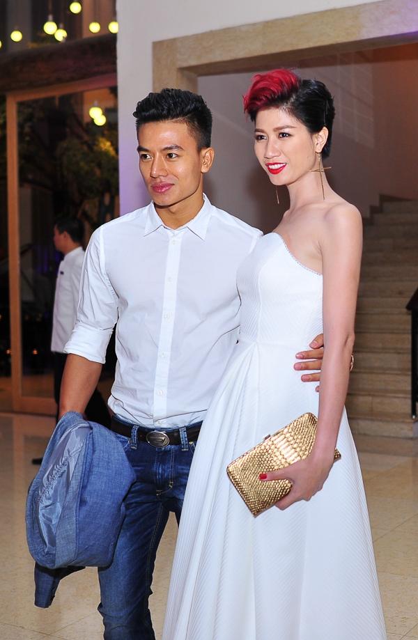 """Đêm tiệc cũng có sự xuất hiện của Trang Trần và Hiếu Nguyễn, cặp đôi của phim """"Hương ga"""". - Tin sao Viet - Tin tuc sao Viet - Scandal sao Viet - Tin tuc cua Sao - Tin cua Sao"""
