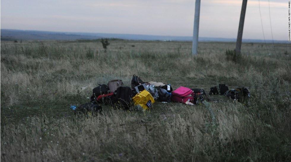 MH17: Những vật dụng còn sót lại của nạn nhân chuyến bay tử thần