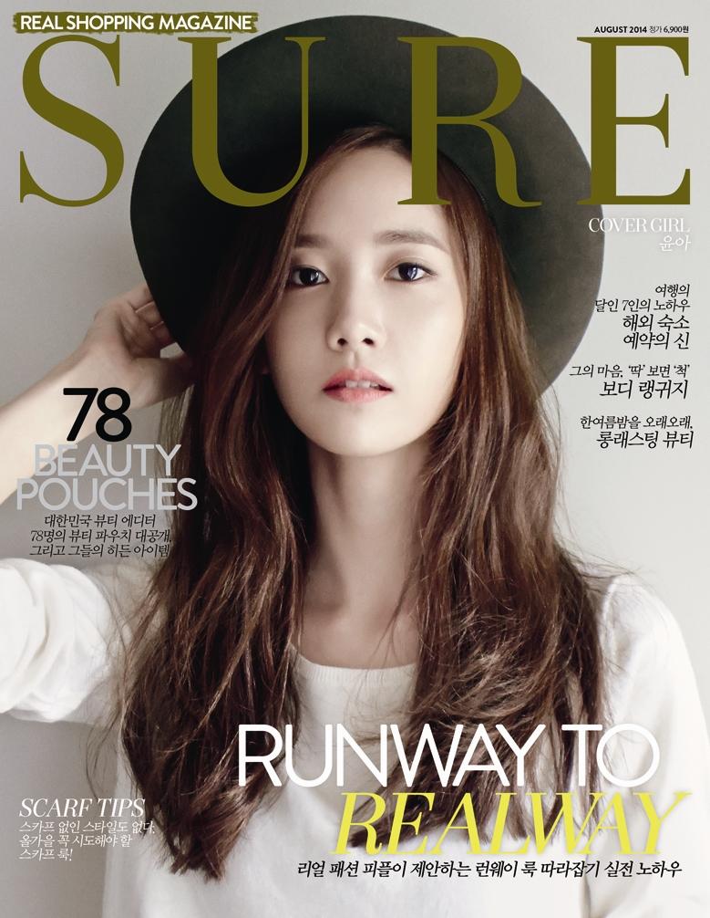 Yoona cực hiền dịu trên tạp chí Sure