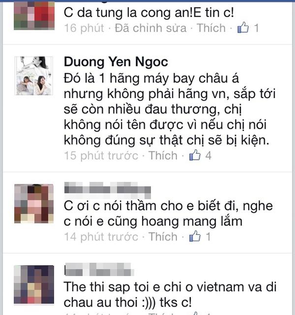 """Dương Yến Ngọc còn úp mở thêm về những điều mà cô """"biết trước"""""""