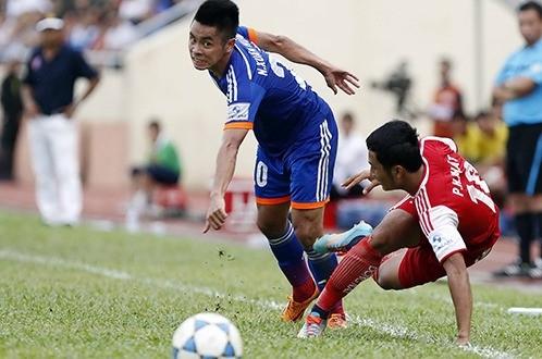Cầu thủ Đồng Nai có nhiều biểu hiện thi đấu bất thường trong trận gặp Than Quảng Ninh. Ảnh: Tuổi trẻ.