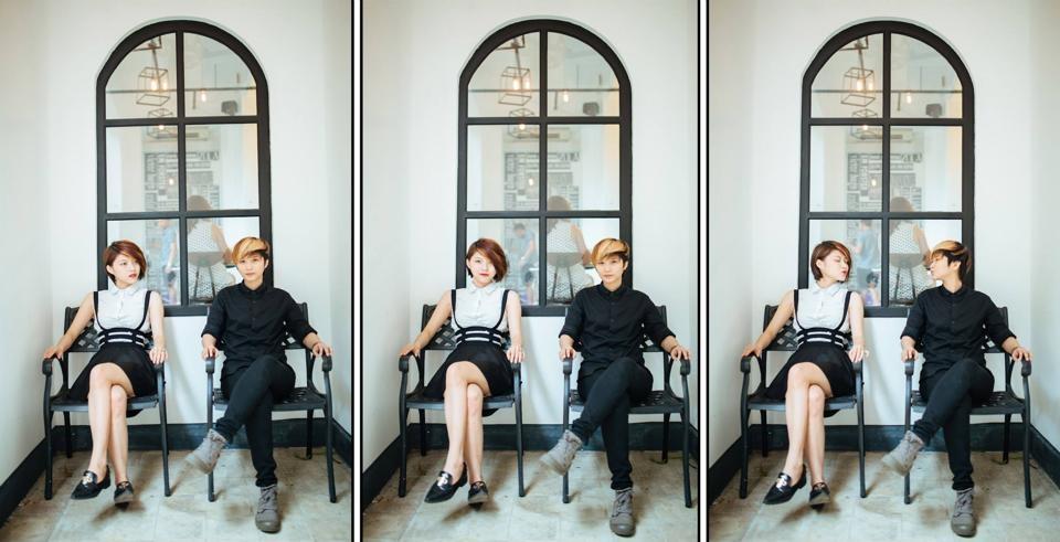 Cặp đôi siêu đáng yêu Gillian Nguyễn và Nguỵ Phương