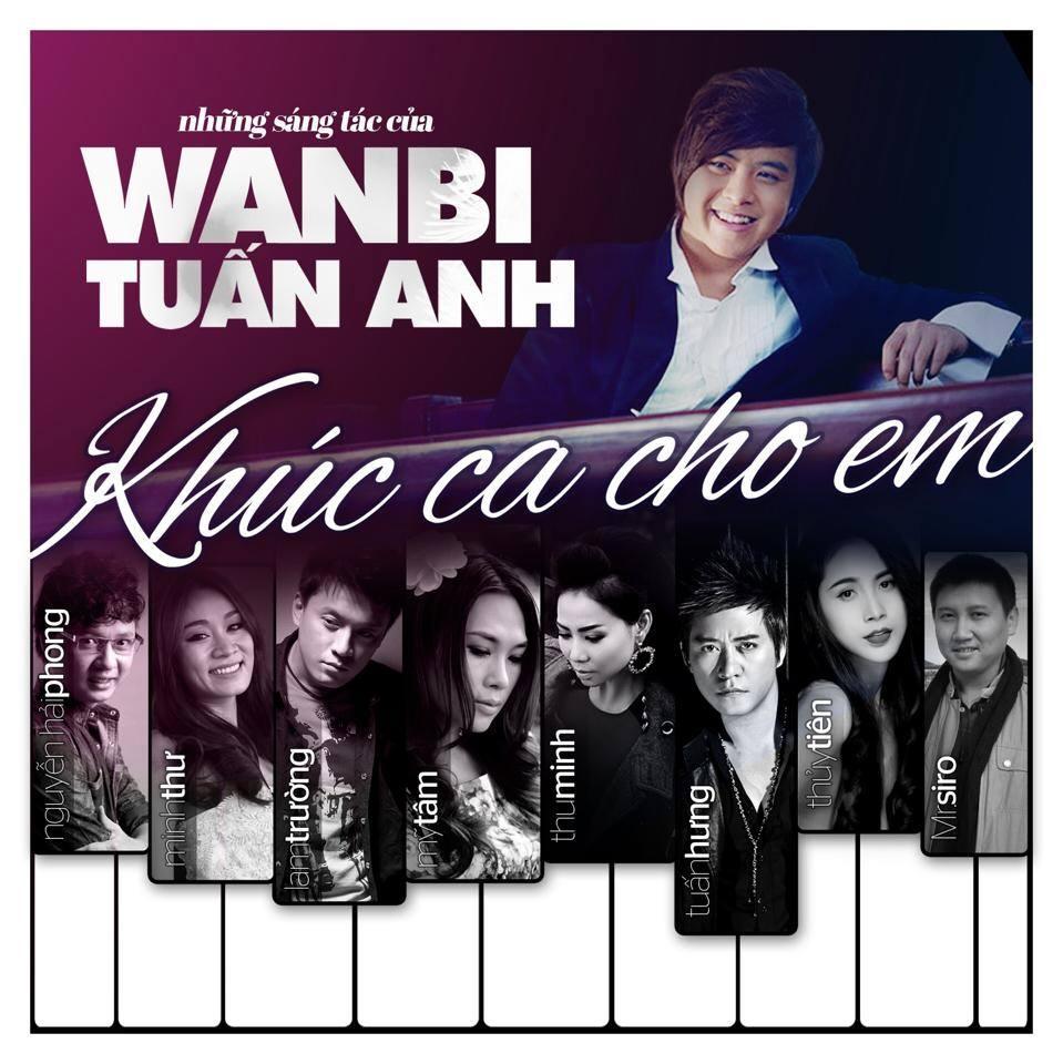 """Bìa album """"Khúc ca cho em"""" - Tin sao Viet - Tin tuc sao Viet - Scandal sao Viet - Tin tuc cua Sao - Tin cua Sao"""
