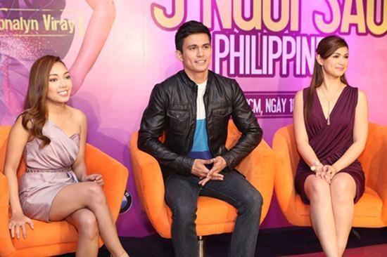 3 ngôi sao Philippines đã có buổi giao lưu thân mật với người hâm mộ