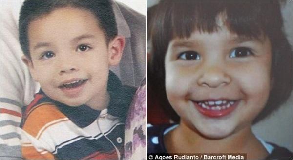 Martin Paulissen (trái) chỉ mới 5 tuổi, và em gái Sri (phải), 3 tuổi, đã có mặt trên chuyến bay MH17 để về thăm mộ của người bà đã mất.