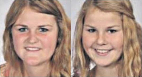 Hai chị em Jinte Wals (trái) và Amel cùng 2 em trai, cha mẹ đều tử nạn trong thảm kịch kinh hoàng.