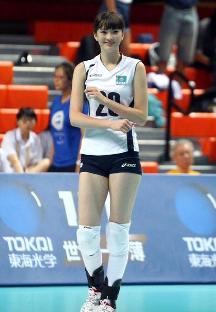 hot girl, bóng chuyền, sport, thể thao, châu á, cộng đồng mạng