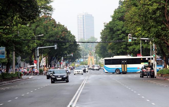 Sắp tới, đường Lê Lợi đoạn từ Pasteur đến Đồng Khởi sẽ bị phong tỏa, toàn bộ các loại xe phải lưu thông theo lộ trình khác.