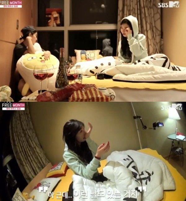 HyunA bật khóc khi nói về gia đình