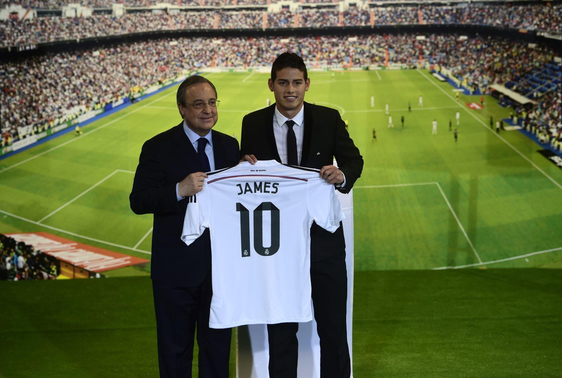James Rodriguez là Galaticos mới của Chủ tịch Perez