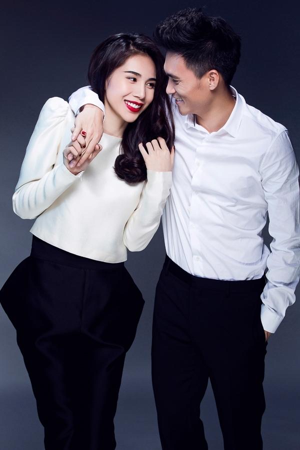 Thuỷ Tiên khoe mặt mộc, diện áo hai dây cùng chồng - Tin sao Viet - Tin tuc sao Viet - Scandal sao Viet - Tin tuc cua Sao - Tin cua Sao