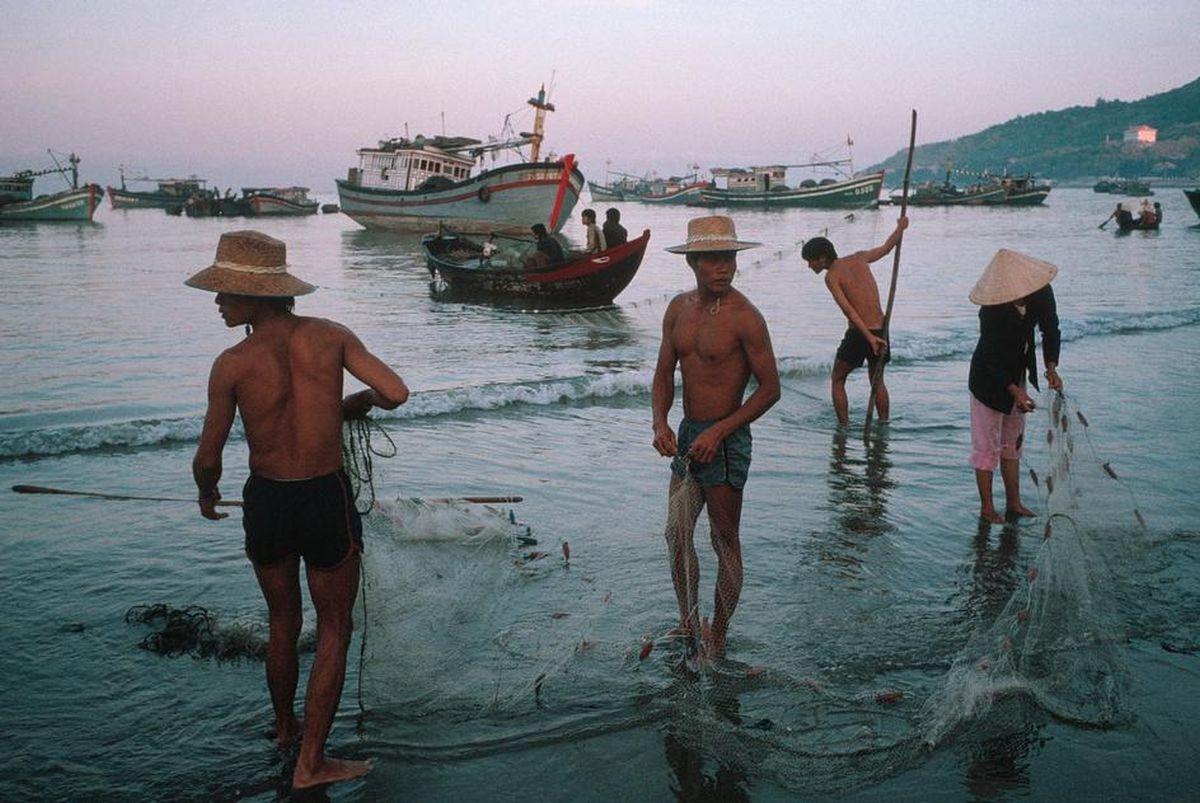 Ngư dânVũng Tàungày ngày bám biển