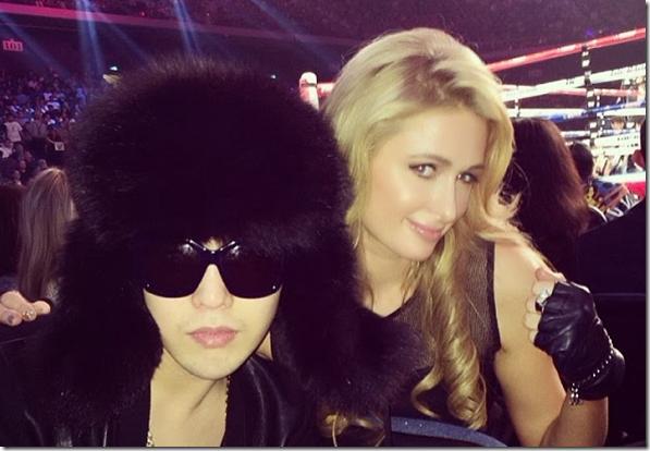 Paris Hilton khoe hình cùng G-Dragon trong một sự kiện trên Instagram của cô