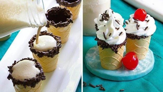 Ngàn lẻ một cách ăn kem tuyệt ngon