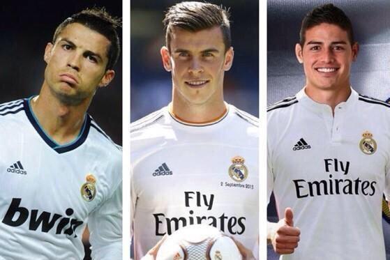 [Bóng Đá] Real vs Barca: Những tam tấu so tài