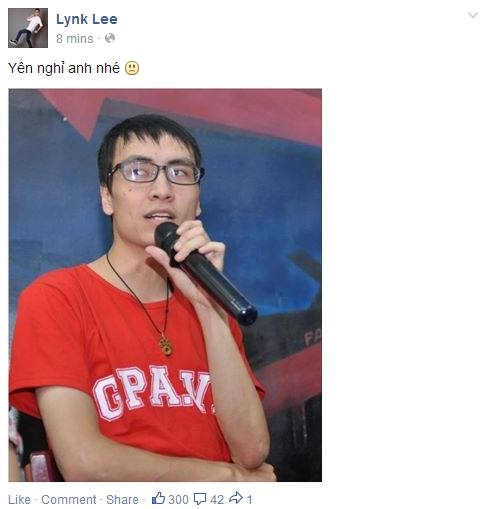 Ca sĩ Lynk Lee mong Toàn Shinoda yên nghỉ - Tin sao Viet - Tin tuc sao Viet - Scandal sao Viet - Tin tuc cua Sao - Tin cua Sao